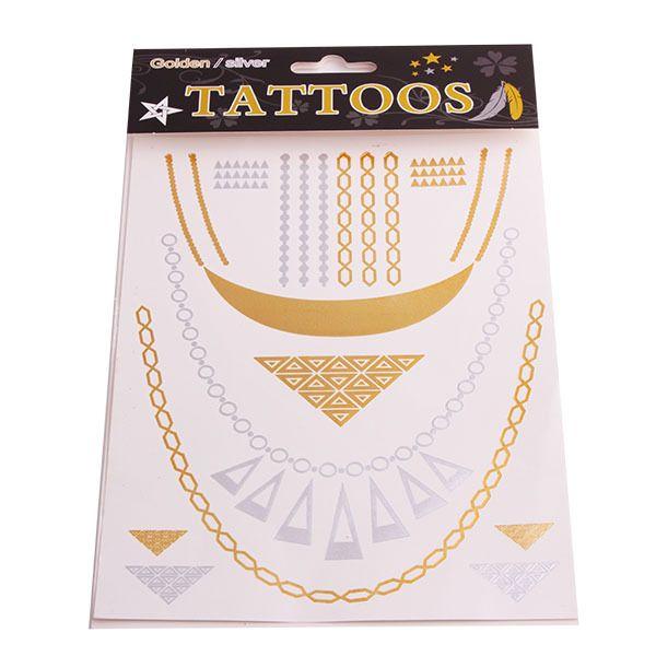Купить T020 новый специальный золотой татуировки ювелирные изделия вдохновленный вспышки татуировки водонепроницаемый флэш татуировки цепь татуировки наклейки блеск тотем др. étatsи другие товары категории Переводные татуировкив магазине Fashion Utopia No.1наAliExpress. наклейки кабошон и наклейки искусство