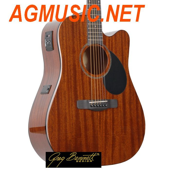 GREG BENNET D1-CE NATURAL chitarra acustica elettrificata con accordatore GOLD RUSH SERIES corpo Dreadnought