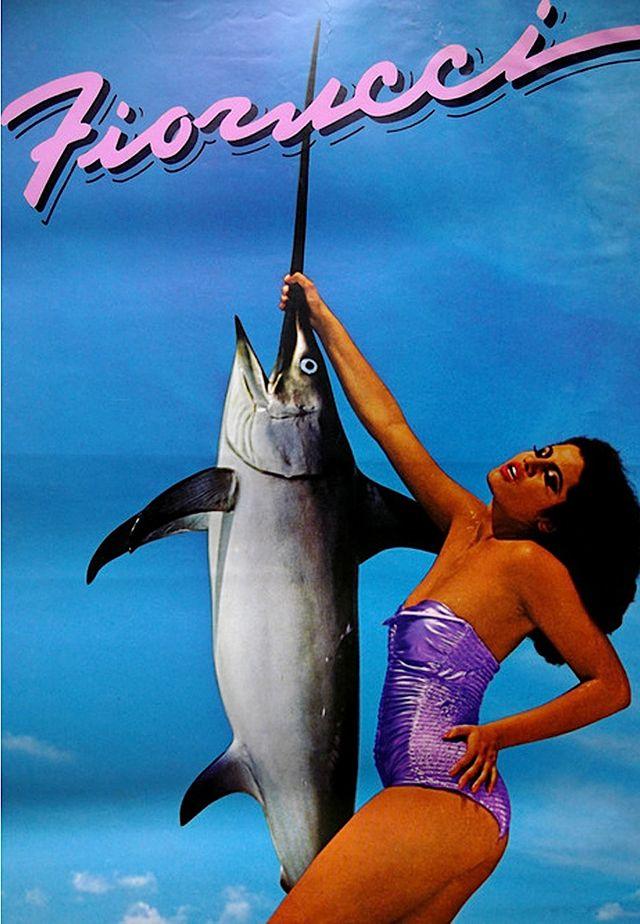 fiorucci vintage swordfish ad