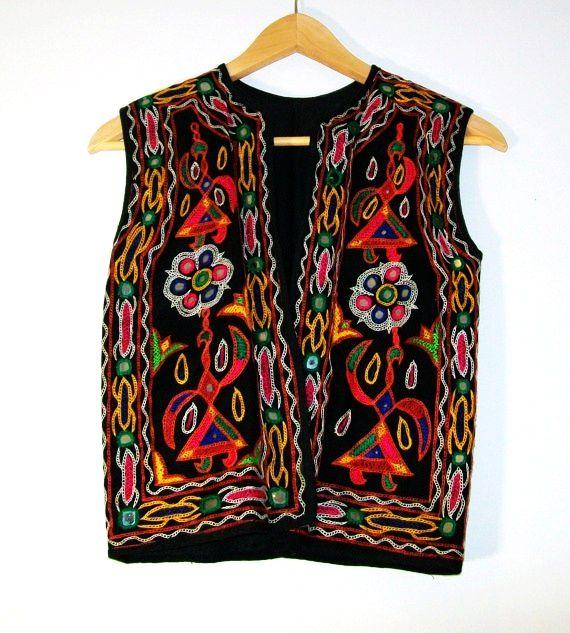 Embroidered Vest
