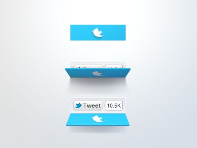 Twitter Button Concept