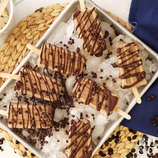 Coffee isn't just for mornings, you know? Take a coffee break with one of these 15 caffeinated desserts!!