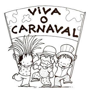 Jardim Colorido Da Tia Suh Desenhos Do Carnaval Para Pintar