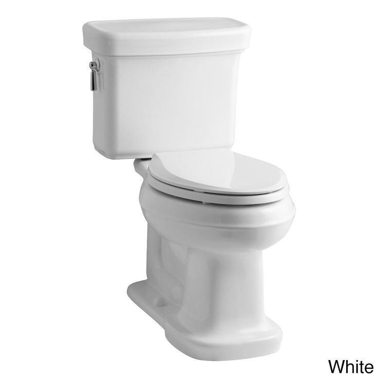 Kohler K-3827 Bancroft Comfort Height Two-piece Elongated 1.28 gpf Toilet with Class Five Flush Technology (