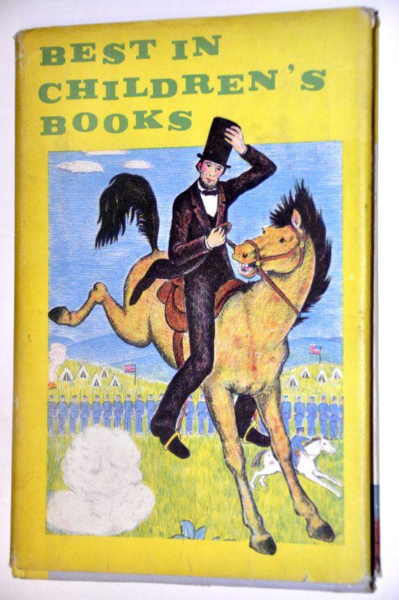 Best in Children's Books. Rudyard Kipling. Robert Louis Stevenson. 1957 Old Children's Stories. Children's Short Story Collection.by RustyCurios