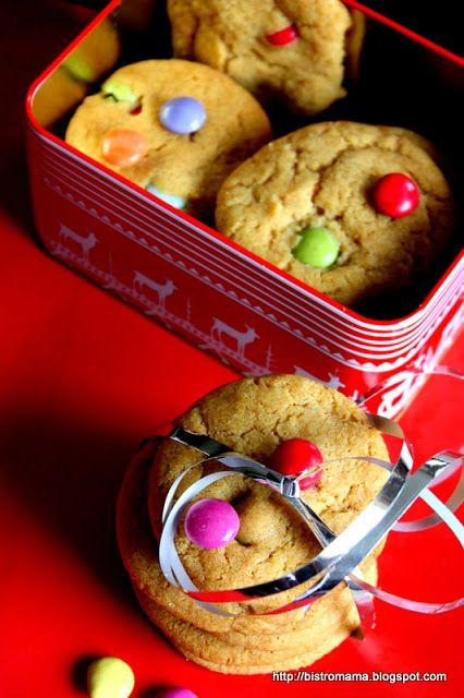 bistro mama: Smarties cookies
