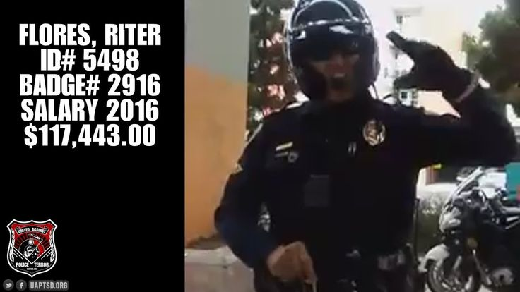 SDPD Officer Harassment in Chicano Park 2 Weeks Prior to Pulling Taser o...