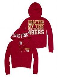 Have to! 49ers jacket Victoria's Secret