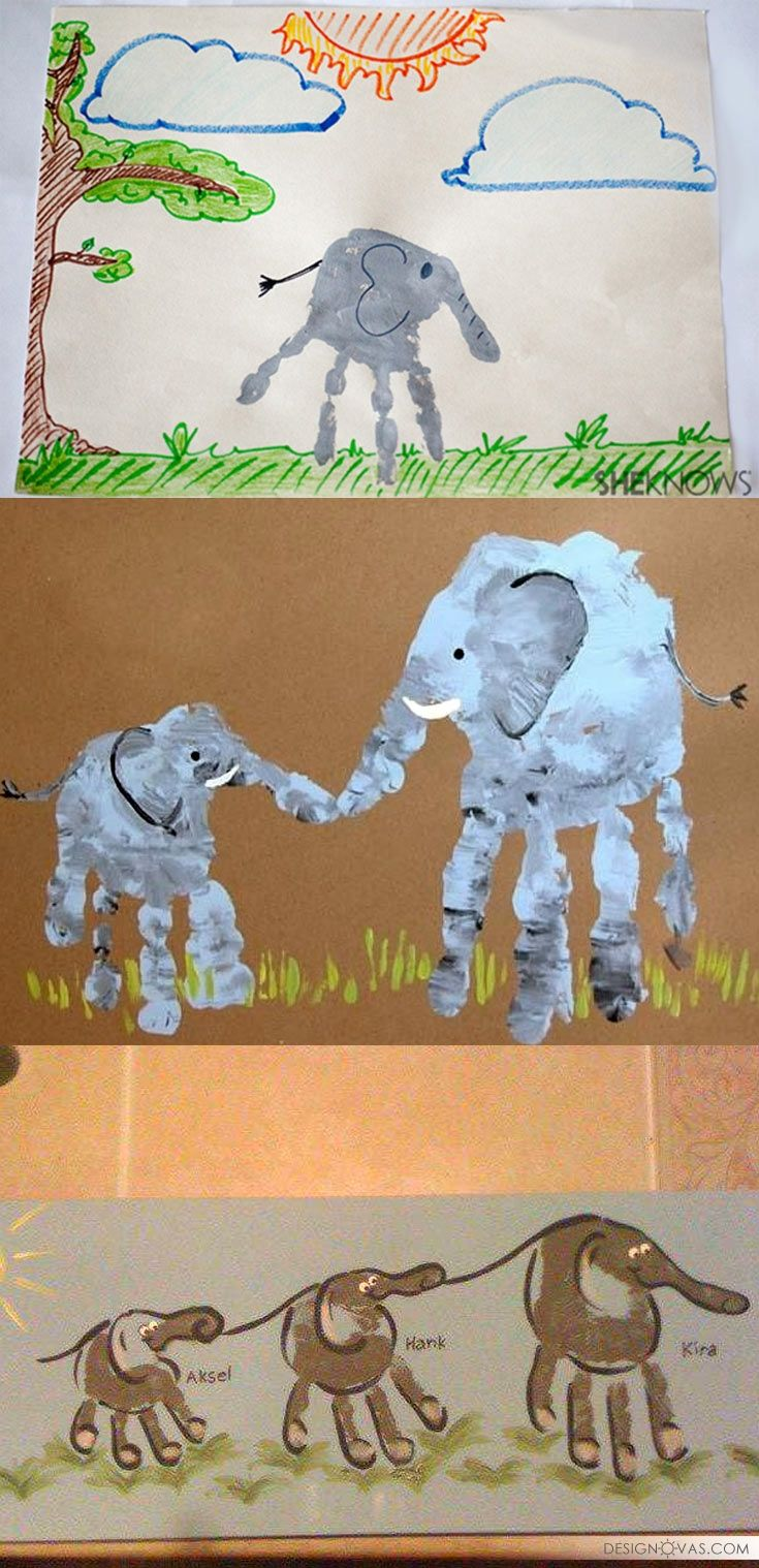 26 animal crafts you can make with your kids | #craft #kids +1