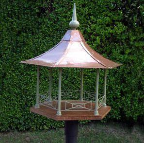 Heytesbury Bird Pavilions - Maison d'oiseau inspirée du style britannique pour décorer et abriter les petits oiseaux