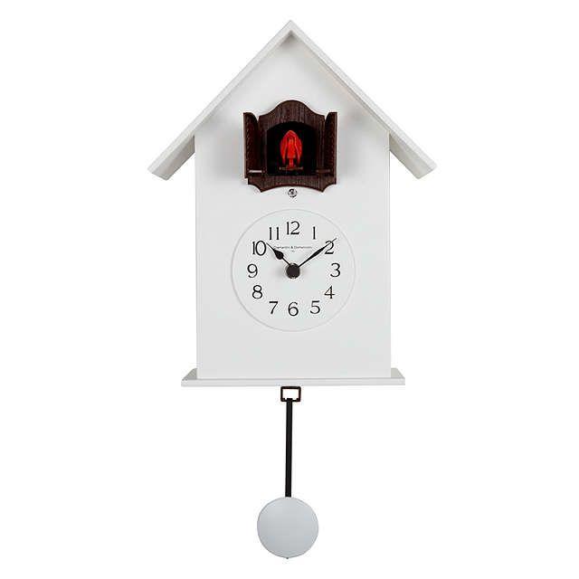 BuyDiamantini & Domeniconi Meridiana Cucu Wall Clock, White, Dia.18cm Online at johnlewis.com