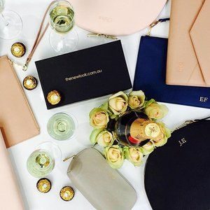 Making memories to last a lifetime ... Let the bubbles flow🍾 #imgettingmarried #imgettingmarriedbitches #engaged💍 #isaidyes #accessories #bride #bridal #bridalshower #bridetobe #groom #gold #engagement #wifeytobe #weddingplanning #weddingideas #bridesmaid #party #personalisedleather #thenewlook #thenewlook_aus #personalised #personalisation #love #gift #giftidea #giftsforher #unique