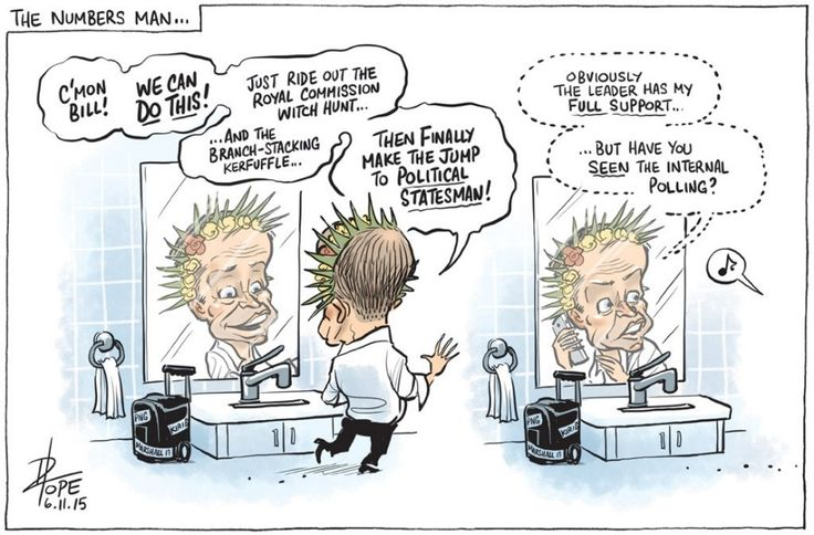BILL SHORTEN HAVE THE DECENCY TO RESIGN AND LET ANTHONY ALBANESE TAKE OVER. Cartoon by DAVID POPE.