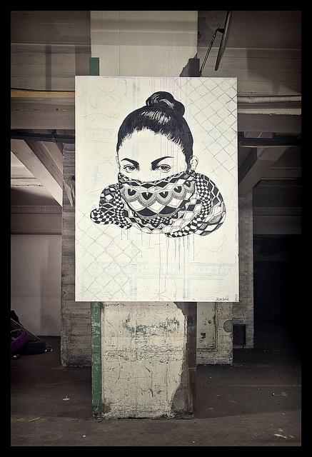 MISS TAKE | Well Done Daphne (Graffiti & Street Art exhibition) by fonzi74/gbCrates, via Flickr
