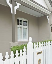 Colorbond Dune with white paintwork