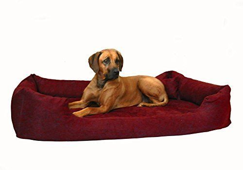 Aus der Kategorie Betten  gibt es, zum Preis von EUR 119,95  Orthopädisches Hundebett PLUTO mit VISCO Schaum! Das wunderschöne und stylische Hundebett PLUTO ORTHO VISCO von tierlando® ist in 30 Farben und in den Größen PLV-3 M (Außenmaß 80 x 60cm) Innen ca. 60 x 45cm PLV-4 L (Außenmaß 100 x 80cm) Innen ca. 75 x 60cm PLV-5 XL (Außenmaß 120 x 90cm) Innen ca. 95 x 65cm PLV-6 XXL (Außenmaß 150 x 100cm) Innen ca. 125 x 75cm konzipiert worden Matratze: PLUTO ORTHO VISCO von tierlando®: dem…