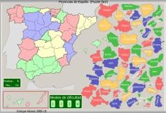 Mapas interactivos on line, de España, Europa...