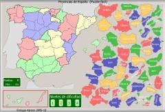 Mapas interactivos on line, de España, Europa..