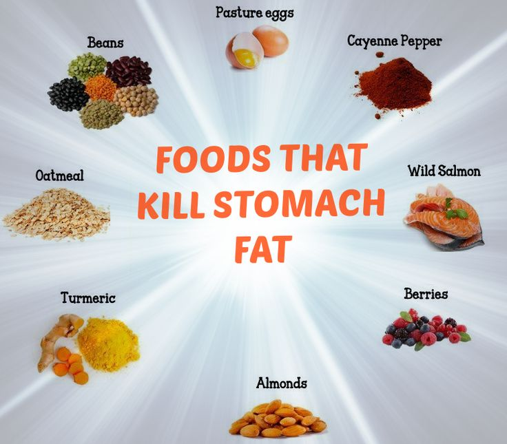 Best Foods For Killing Stomach Fat