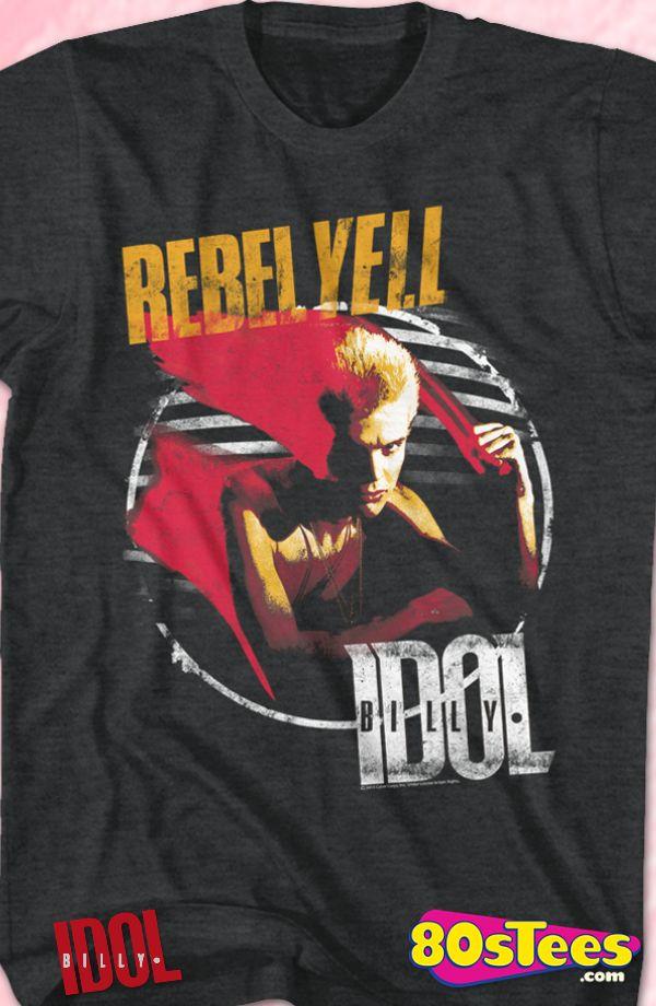 Rebel Yell Billy Idol T-Shirt
