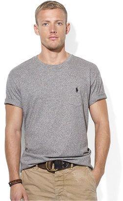 Polo Ralph Lauren Classic Crew Neck T-Shirts 1-Pack, M, Gray