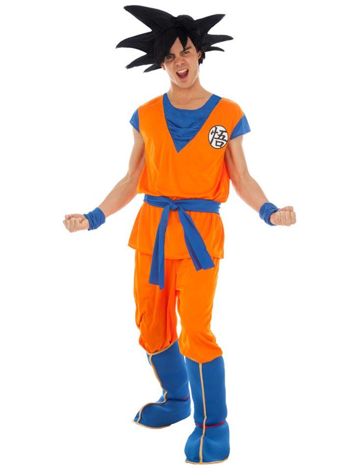 Son Goku Kostum Dragonball Z Kostum Orange Gunstige Faschings Kostume Bei Karneval Megastore Dragon Ball Z Goku Saiyan Goku