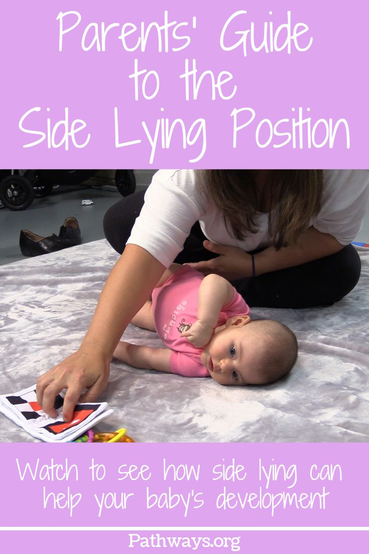 Parents Guide To The Side Lying Position Pathways Org Colicky Baby Parenting Guide Baby Development