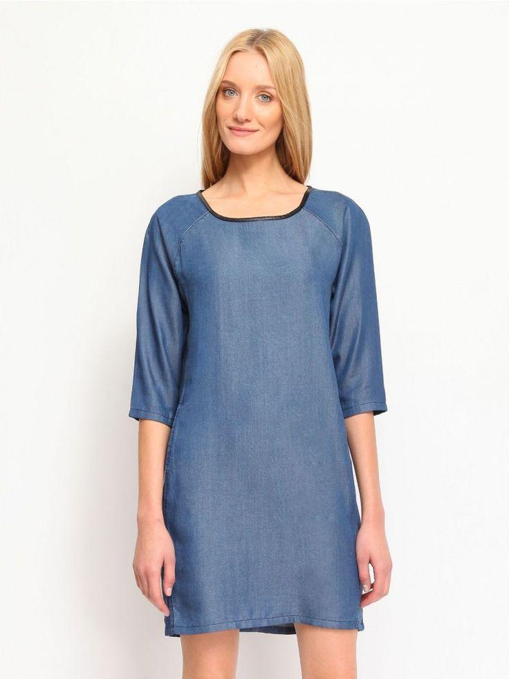 Γυναικείο φόρεμα Χρώμα: Μπλε