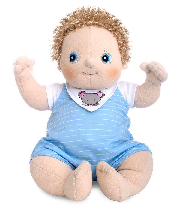 """Αρχική Σελίδα :: ΠΑΙΧΝΙΔΙ :: Rubens Barn Χειροποίητες κούκλες :: Rubens Baby :: Rubens Barn κούκλα Baby """"Erik"""""""