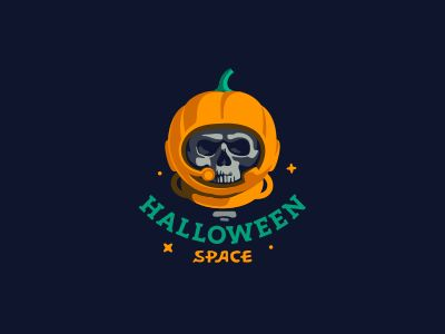 Halloween logo! Full collection of logos from our community from Logobaker.ru : https://www.behance.net/gallery/44216593/Halloween-Logotypes