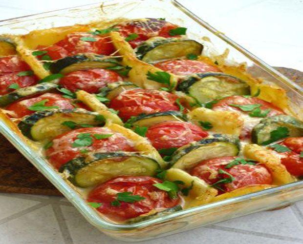 Gratin léger aux légumes Weight Watchers, recette d'un gratin léger avec de bons légumes, facile et simple à réaliser chez vous.