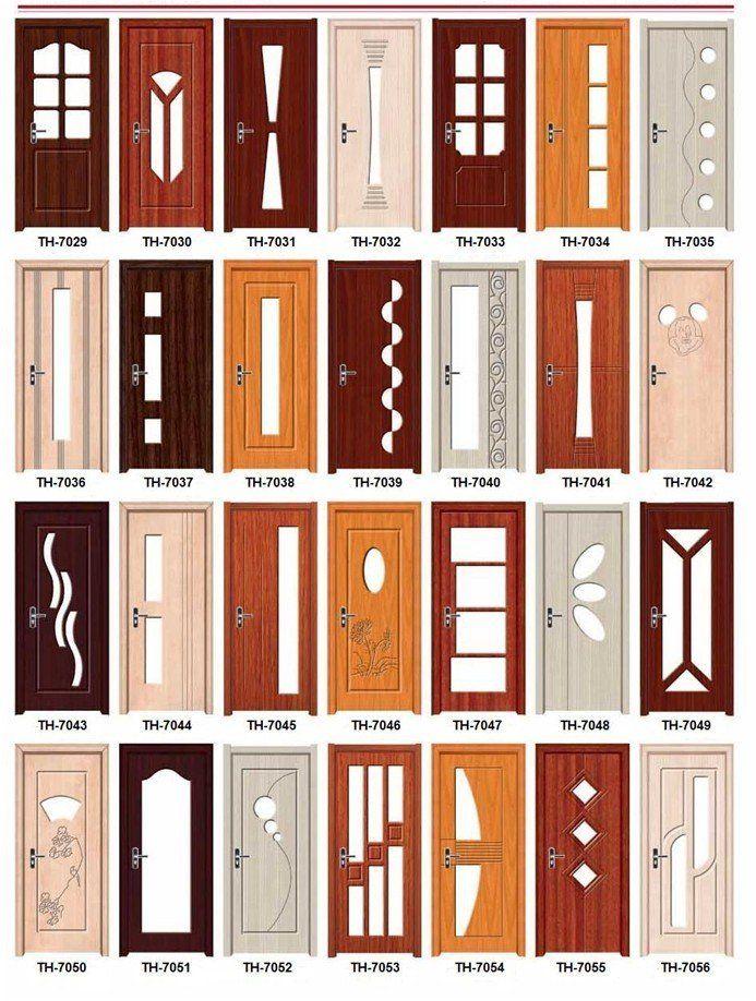 M s de 25 ideas incre bles sobre puerta madera en for Puertas de entrada con vidrio