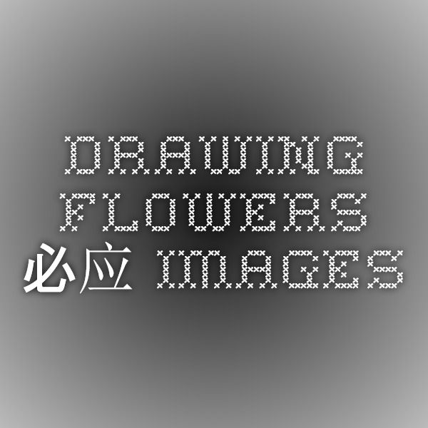 drawing flowers - 必应 Images