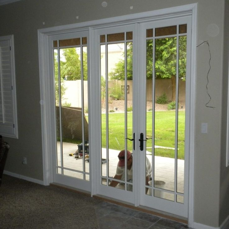 Best 25 sliding french doors ideas on pinterest diy for Sliding glass doors that look like french doors