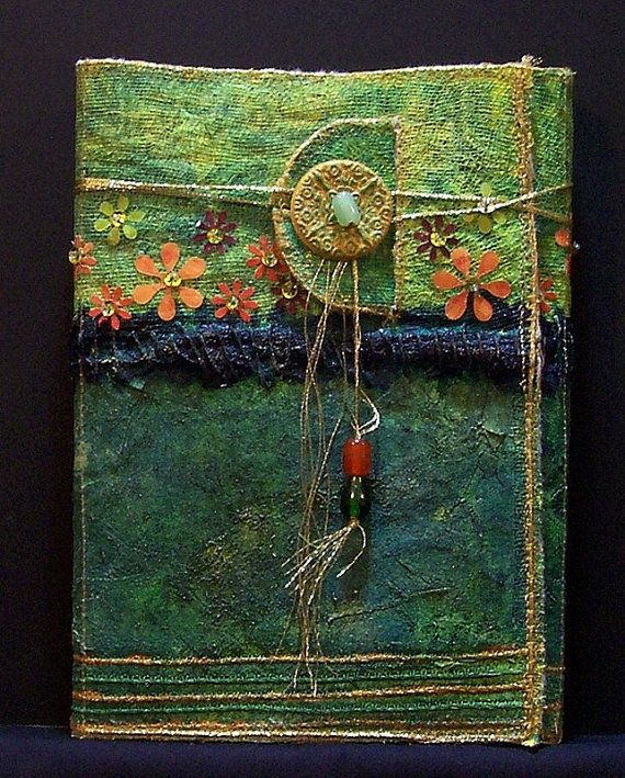 How To Make A Recycled Book Cover : Best images about books and journals covers ideas