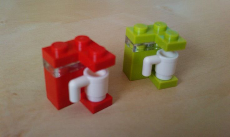lego / Simple Lego coffee machine (choose your favourite) by ~MG18 on deviantART