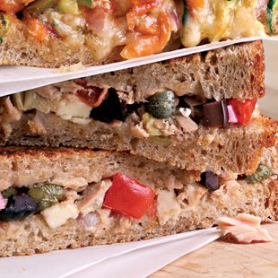 Tuna, Lights Lunches, Paninis Recipe, Tuna Salad, Sandwiches Fillings ...