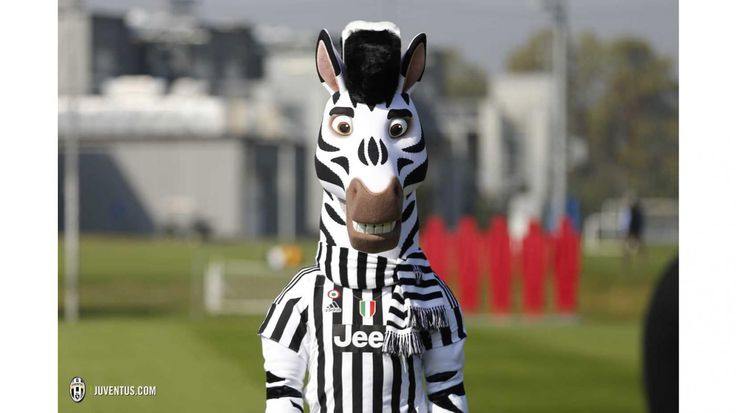 "The Juventus F.C. mascot ""J"""