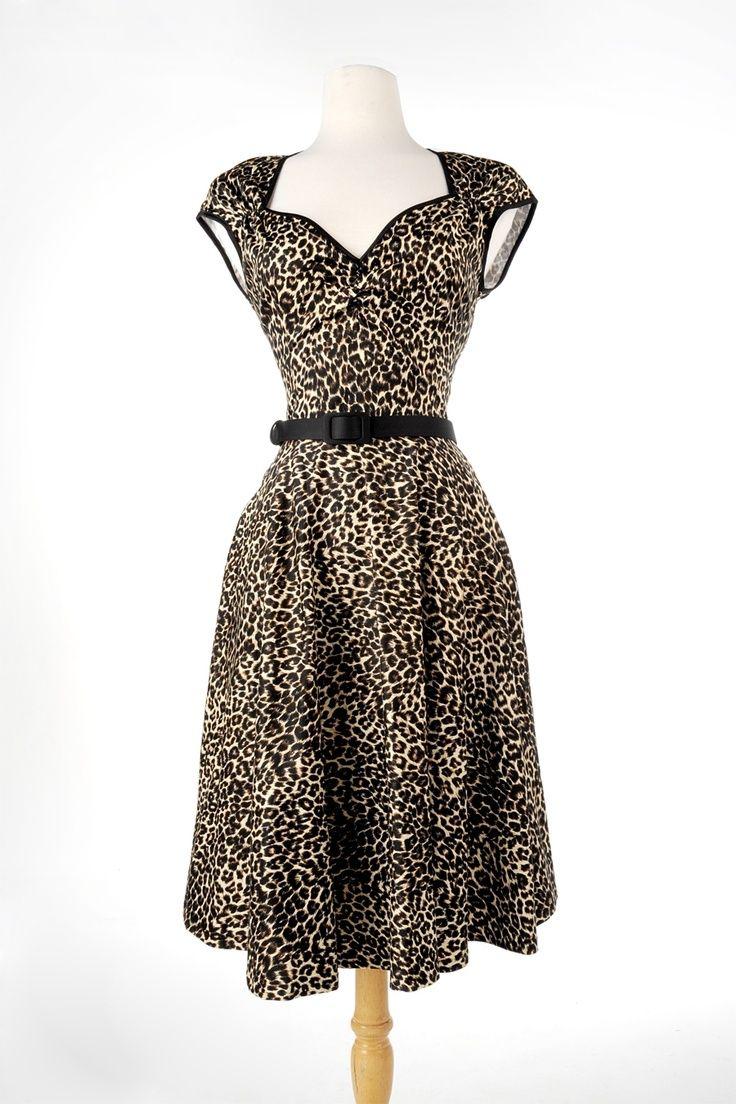 Pinup Couture - Heidi dress leo