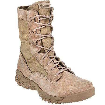 Bates Boots 5118 Mens Desert Tan Zero-Mass Military Boots
