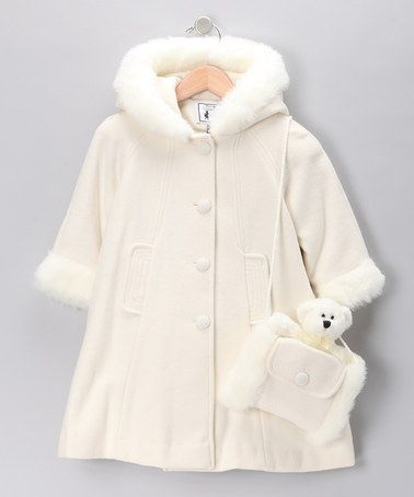 Look What I Found On Zulily White Faux Fur Wool Blend
