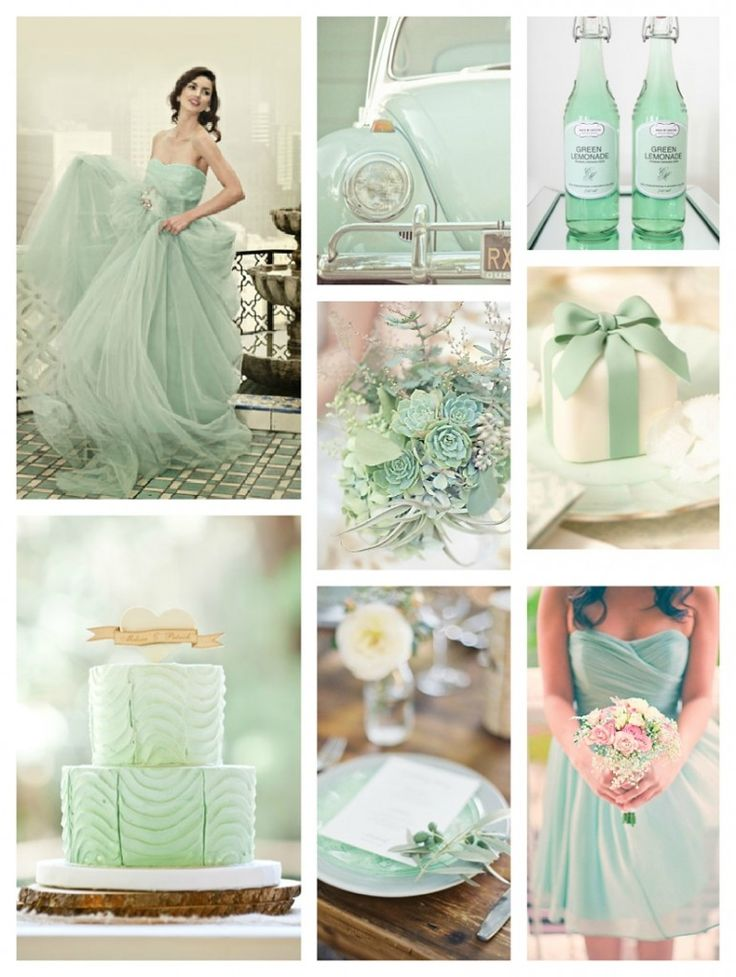7 best images about wedding motif on pinterest wedding for Mint green wedding dress