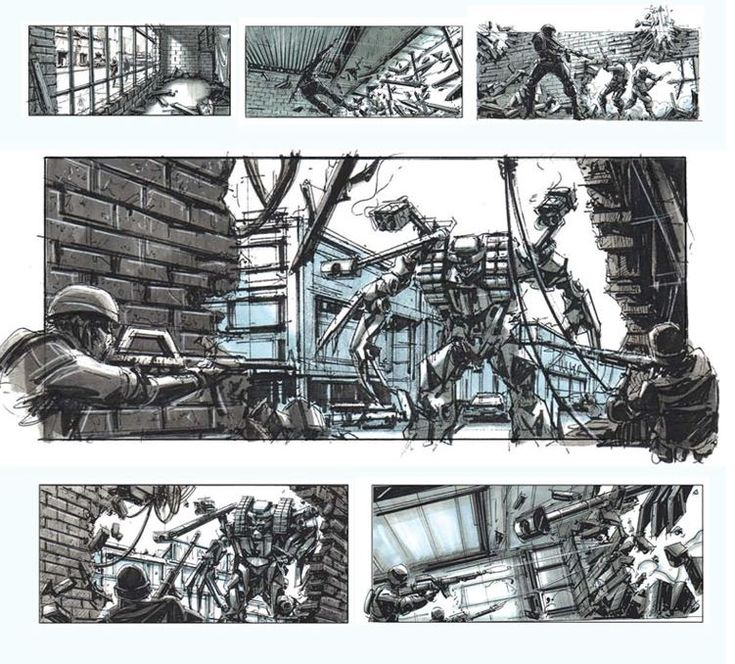 Check out these storyboard examples of some classic films the from 1960's to 2000. You can findhere from the DGA. ★★★ Find More inspiration @creativeelc ★★★