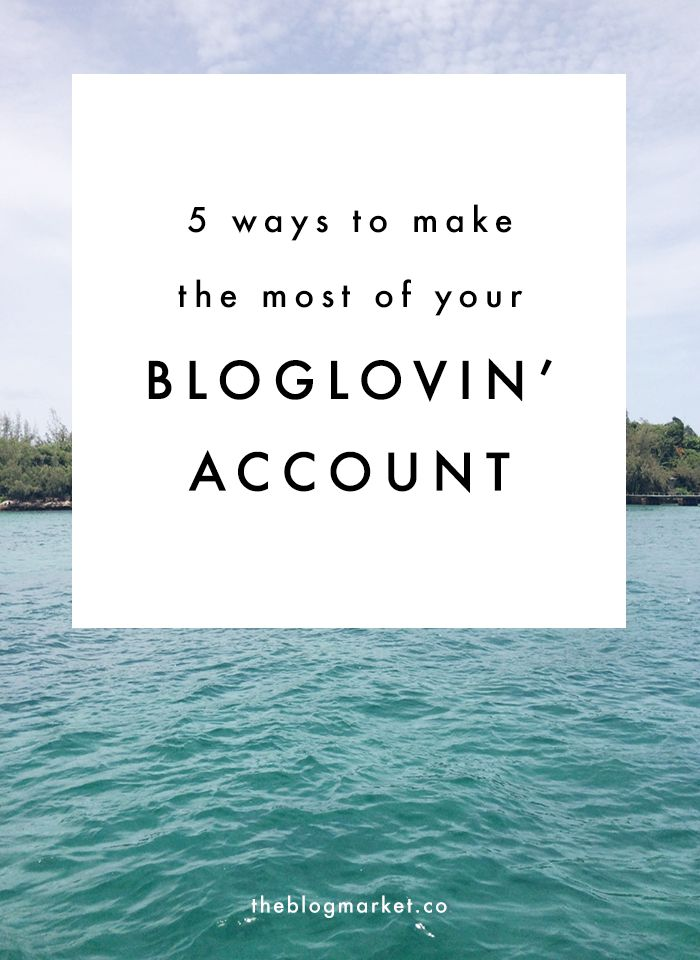 how to make a blog account