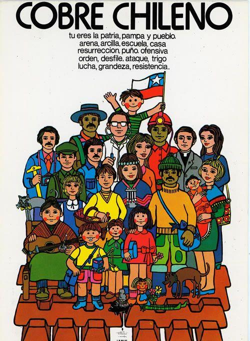 Cobre Chileno (1972) - Vicente Larrea, Antonio Larrea y Luis Albornoz.