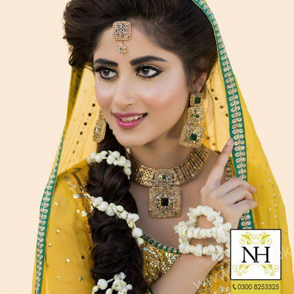 Sajal Ali Mayun Photoshoot For Nadia Hussain