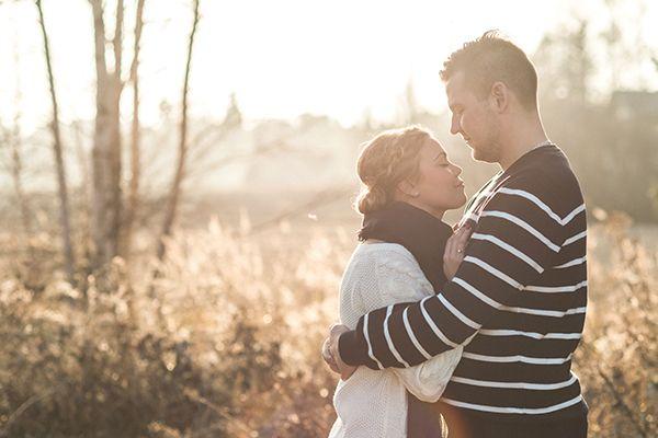 Fall couple shoot with dogs — Susanna Nordvall Photography