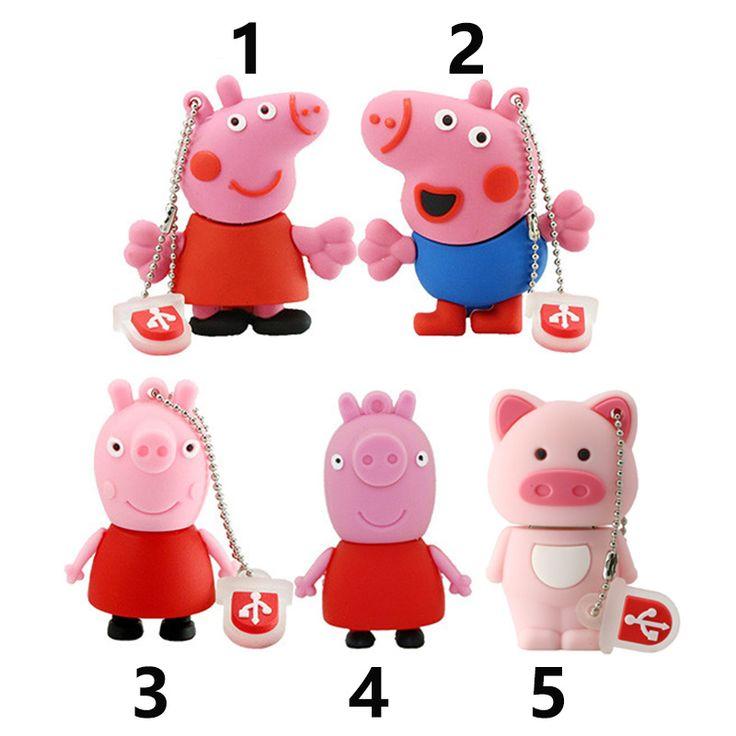 Pendrive pink pig usb flash drive 4gb 8gb 16gb 32gb pen drives flash usb drive pig usb flash memory Fr ee shipping //Price: $5.95 & FREE Shipping //     #hashtag2