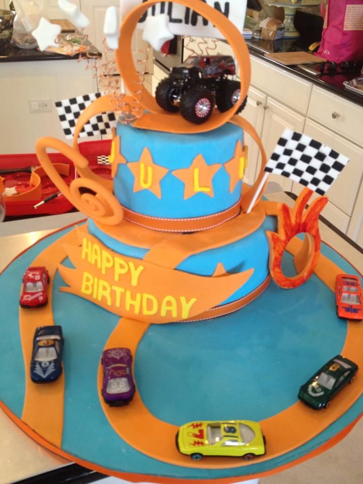 Images Of Hot Wheels Cake : Birthday cakes, Wheels and Search on Pinterest