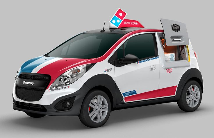 Domino's unveils the DXP, the first purpose-built pizza-delivery vehicle - CNET